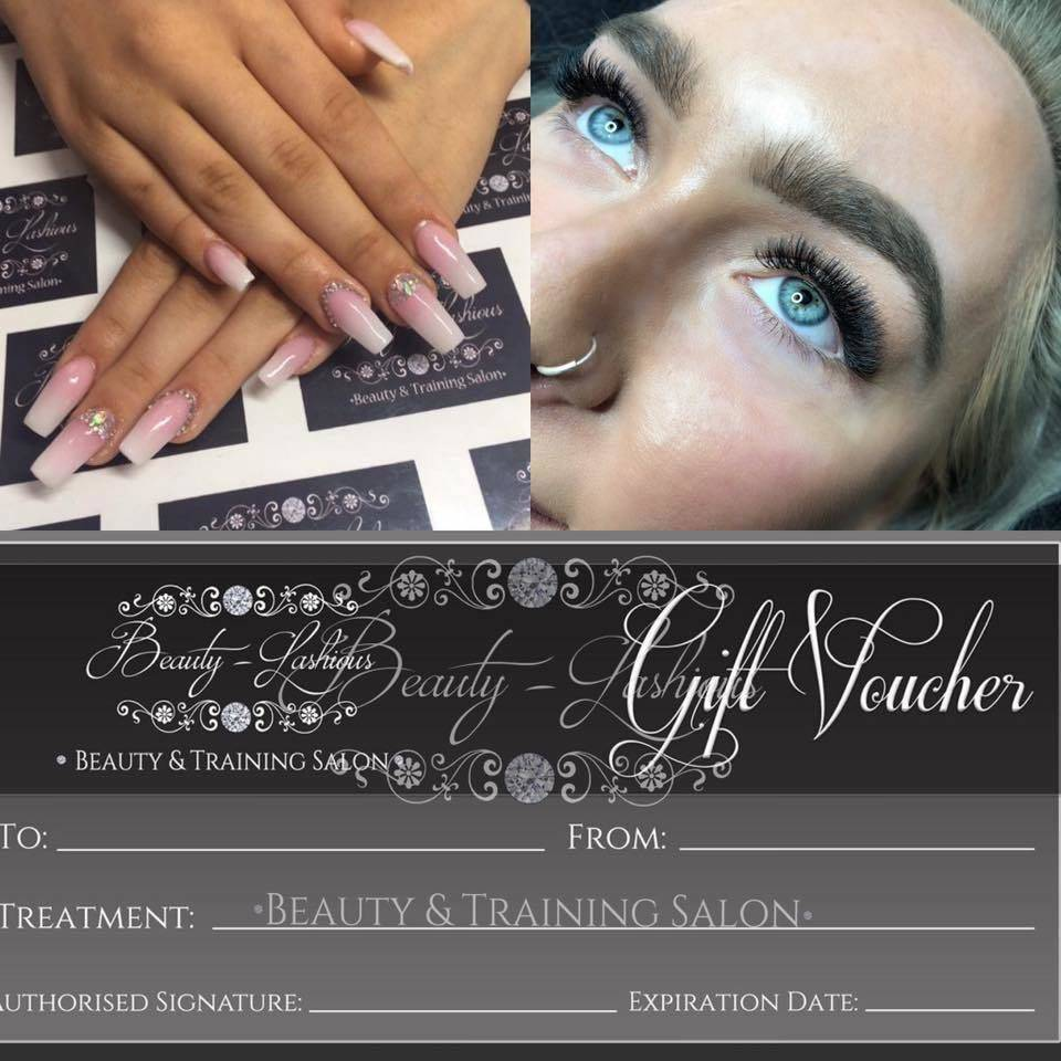 GIFT VOUCHERS AVAILABLE Treat someone you love with a voucher, for treatments or a course! Pop in salon or message us. We can post gift vouchers out too with a card payment over phone. Xx
