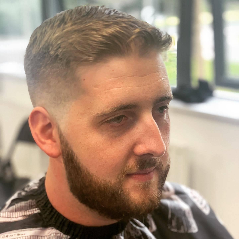 Lovin being bk at work #ruffcutzbarbers #miltonkeynes#mkbarber#barber#newtings