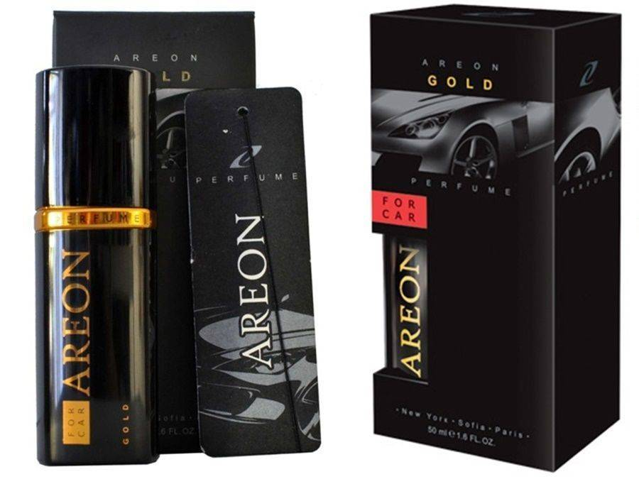 Areon Spray Air Freshener GOLD 50ml