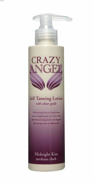 Crazy Angel Self Tanning Lotion (Midnight Kiss)