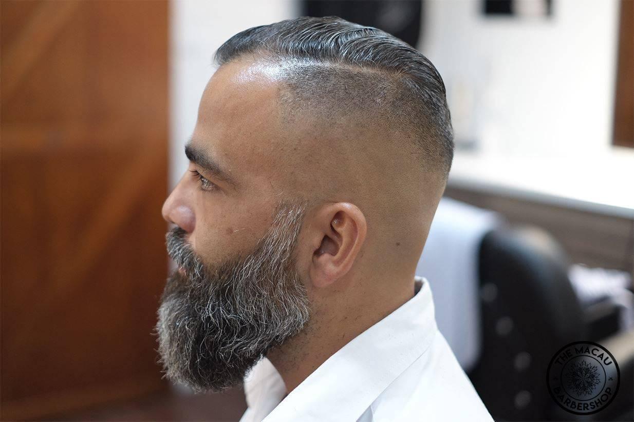 Bald Fade  _____________________________________________  Bookings/預約: www.themacaubarbershop.com