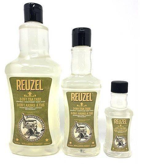 Reuzel Shampoing Quotidien 3-En-1 350ml