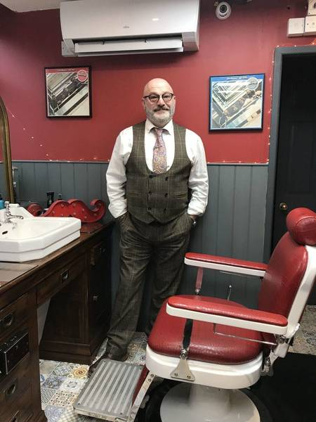 Ross Webb, cutting hair for 47 years, Master Barber