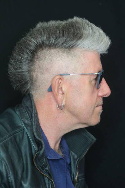 creative 'V' haircut