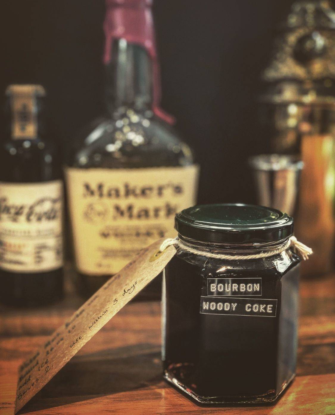 Makers Mark Bourbon with Woody Coke