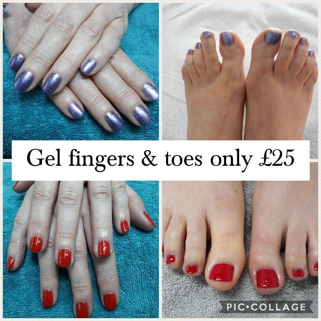Are your toes 'flip flop' ready? Gel polish Fingers & Toes from £25 - book now online on 01928 240513 or 07957 198169. New customers receive a 10% discount
