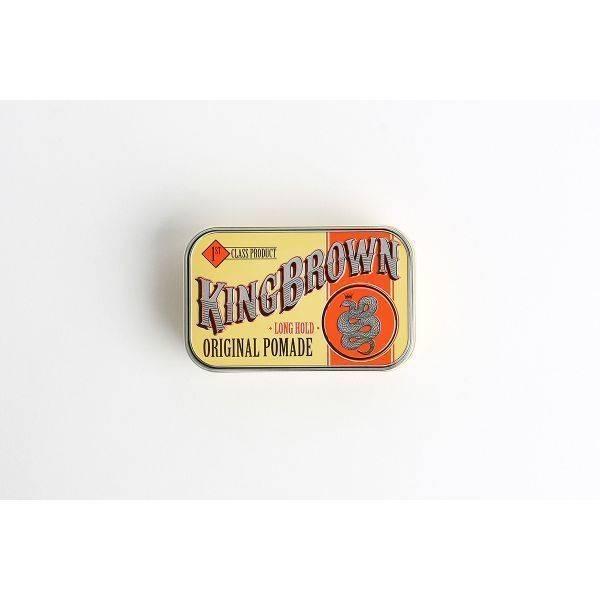King Brown Long Hold Original Pomade 75g