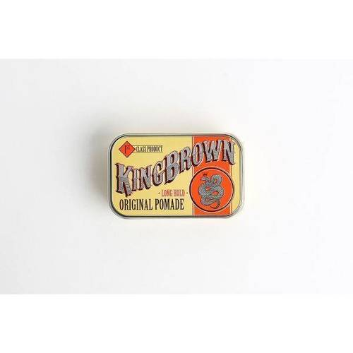 King Brown Long Hold Original Pomade 75g
