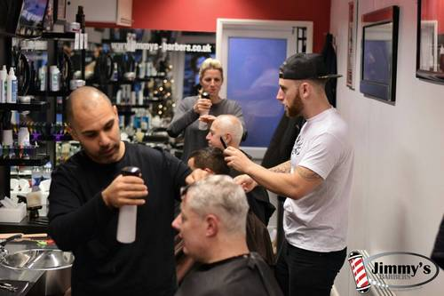 Hayward's heath jimmys barbers