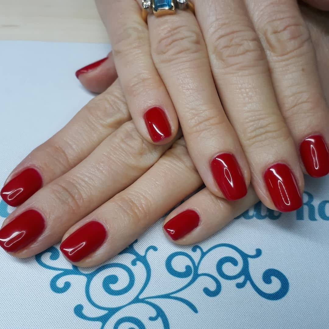 This colour is gorgeous - Scarlet 101 ManiQ Gel Polish  #youngnailsuk #youngnailsinc #ManiQ #rednails #thecuteicklenailroom
