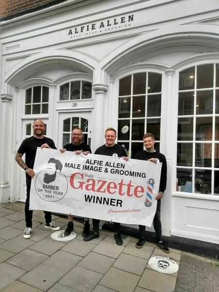 Winner: Gazette barbers of the year 2021