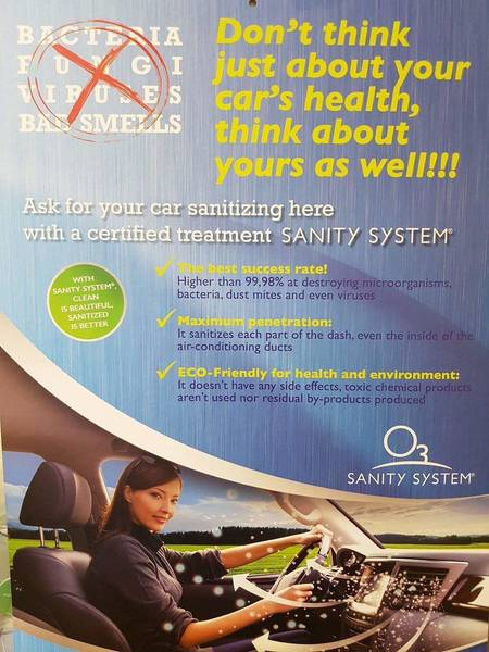 Sanity Clean (Odour Eliminator)