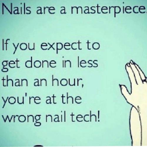 Meticulous prep is the key! How some salons get you in and out in 30-40 mins I will never know!
