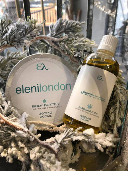 EleniLondon CBD Massage Oil