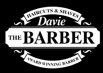 Davie the barber logo