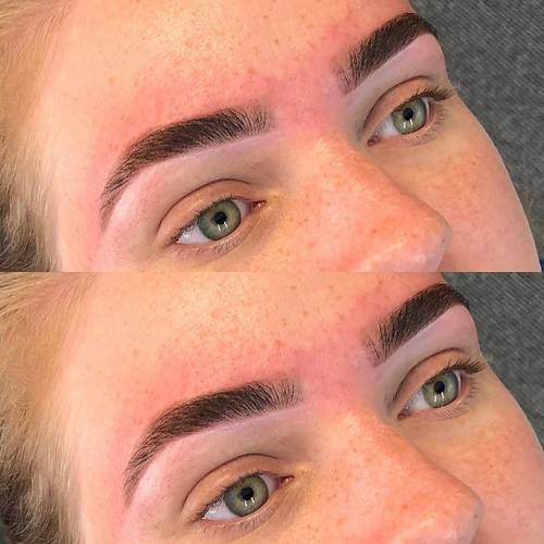 HD Brows  No product just a bit of brow gel and highlight  . I haven't posted brows lately, they're one of my favourite things to do.