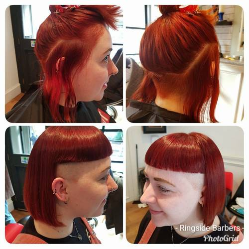 I LOVED doing this cut today. Thanks Beth for coming in.