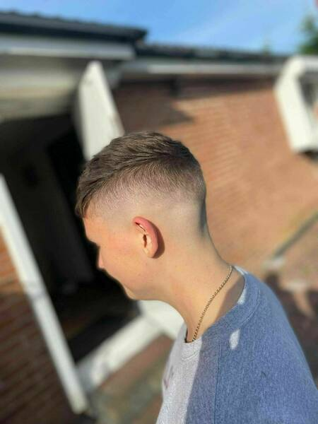 Foil Fade with a Cropped Top by Alex Scarr