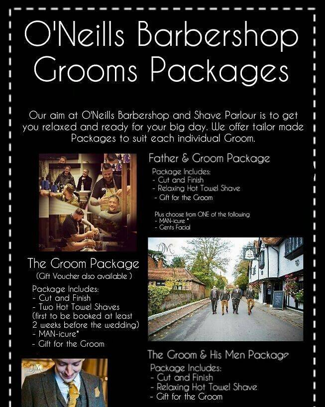 Grooms day packages