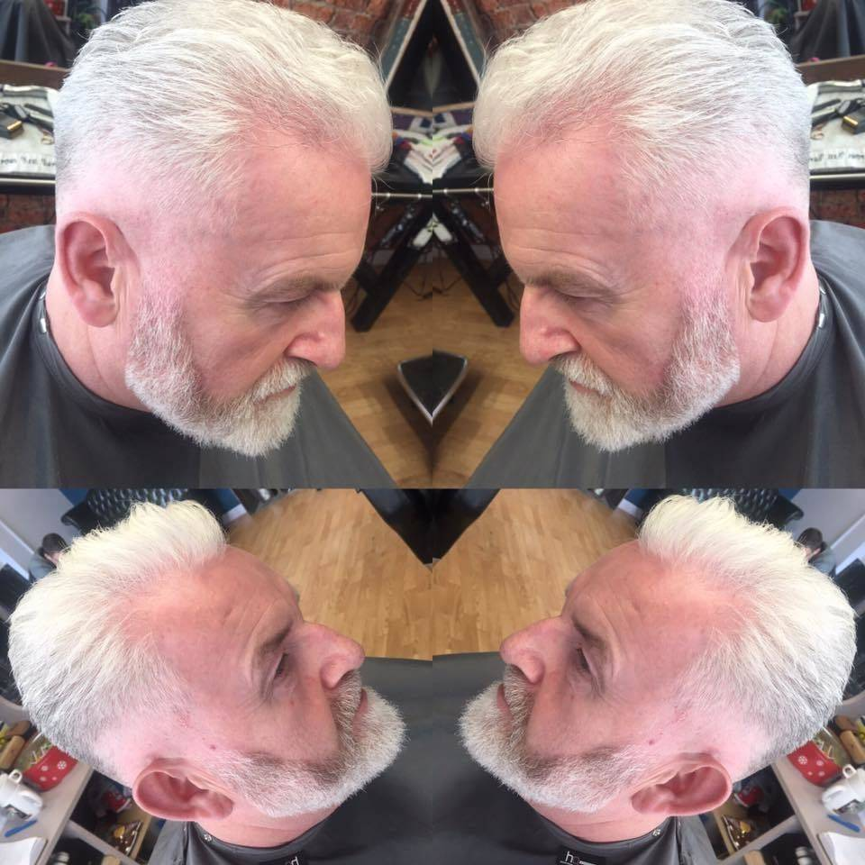 My lovely customer Pete coming in for a zero fade & beard trim ✂