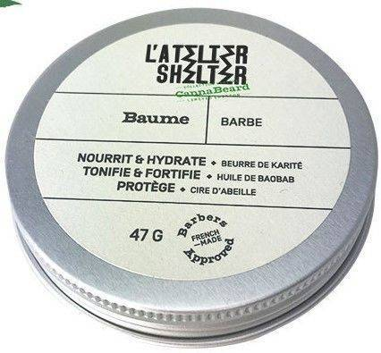 L'atelier Shelter baume Pour Barbe cannabeard