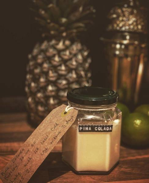 Pina Colada cocktail (serves 2)