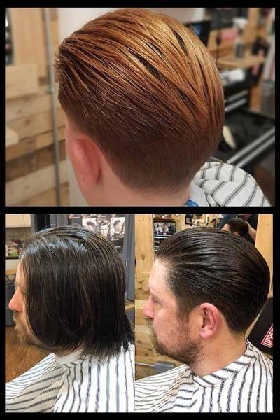 Some nice scissor & clipper work by  Rob n Harry