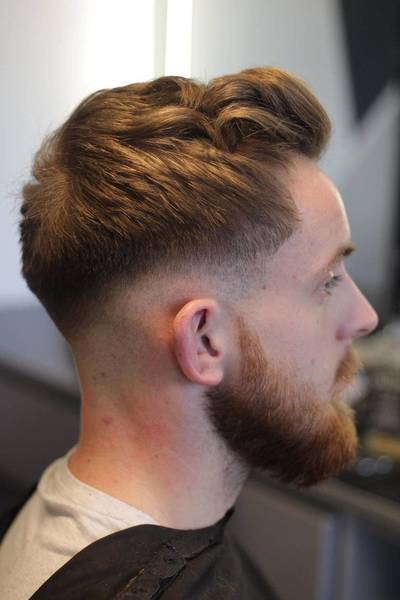 mid/low fade