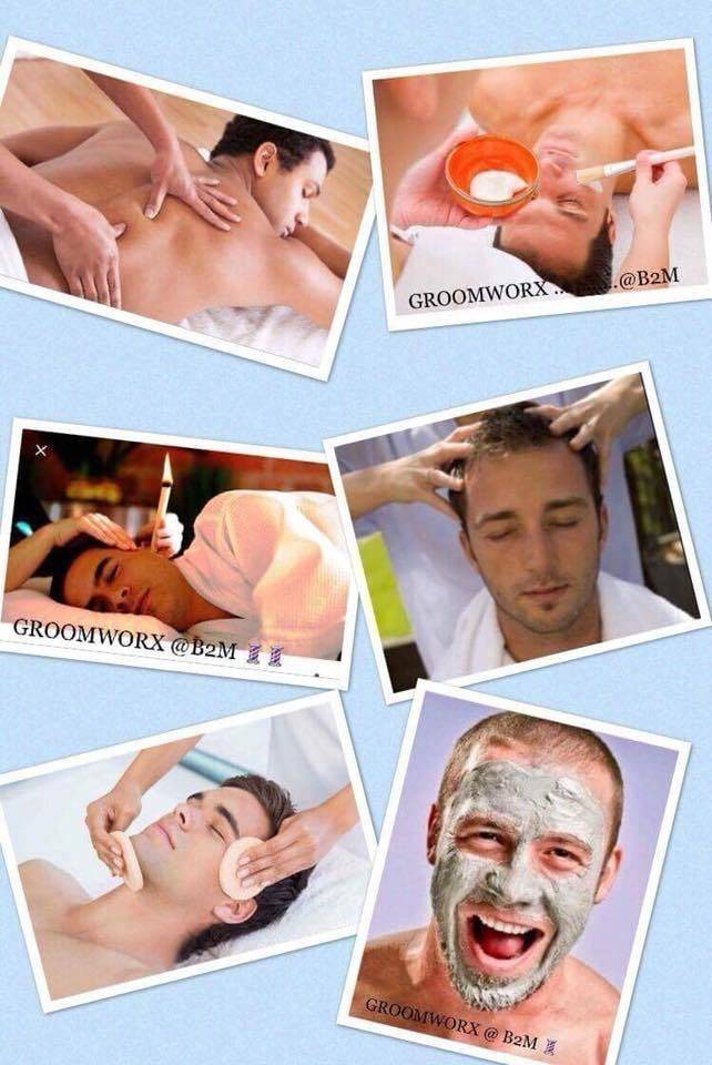 Come on lads.. this is the ultimate in pampering! Just for you ... book in  and treat yourself ! ❤️