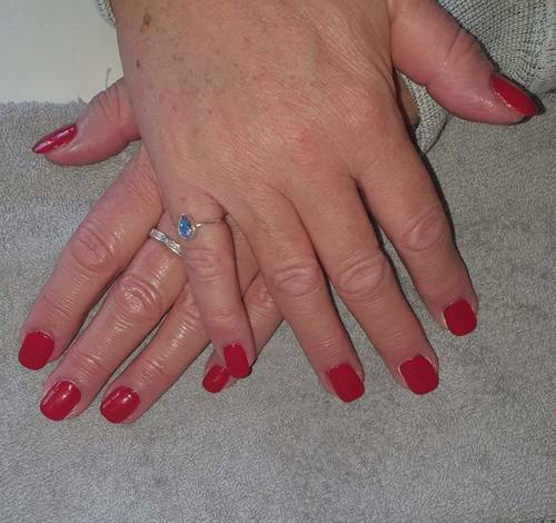 Gel Infill Manicure with tip extensions from The Beauty Box, Duston, Northampton