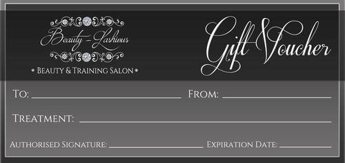 Beauty-Lashious Gift Voucher