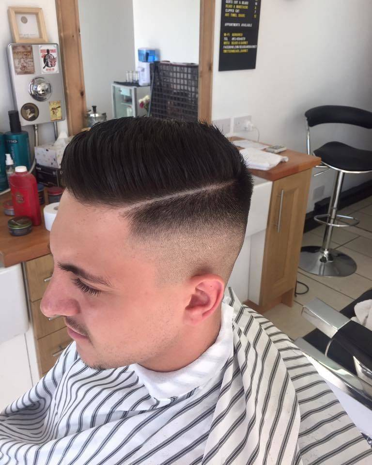 Skin fade from today ✂️. Message me for appointments this week gentlemen