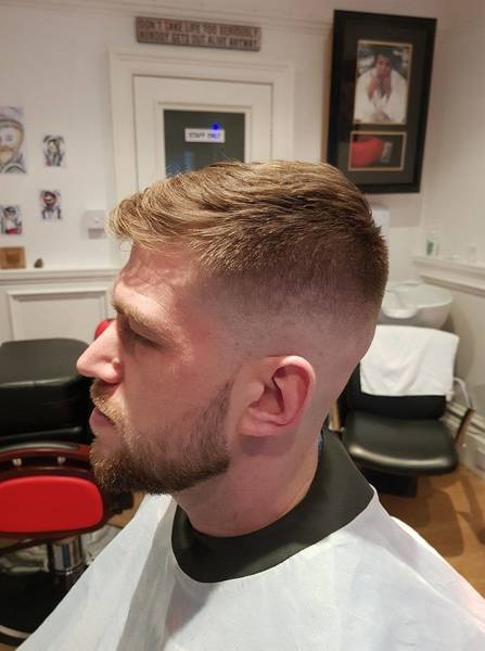 Haircut on Liam 🤘   Get booked in for tomorrow 🥊