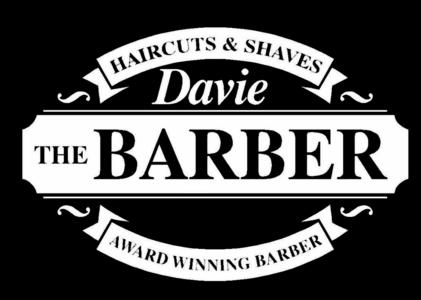 Davie the barber logo
