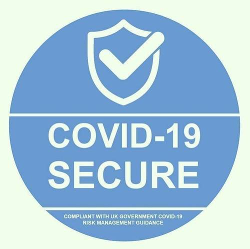 OFFICIALLY Covid-19 Secure!
