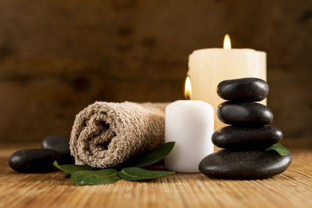 45 minute Hot Stone Back Massage