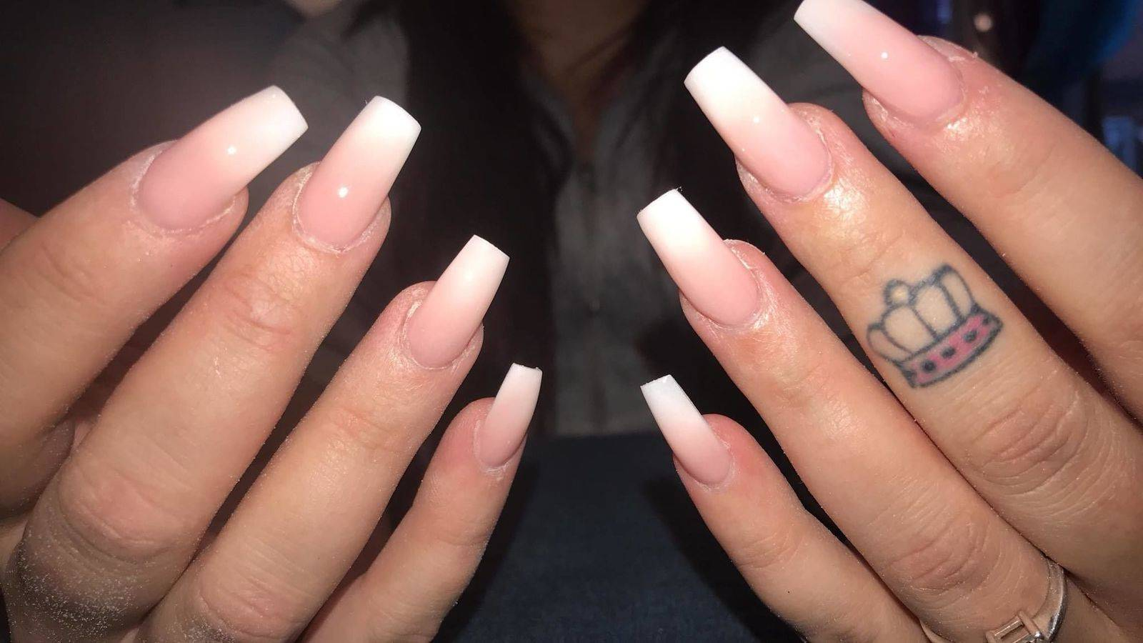 Katie Dale Make-Up & Nail Artist - Love love love a French fade