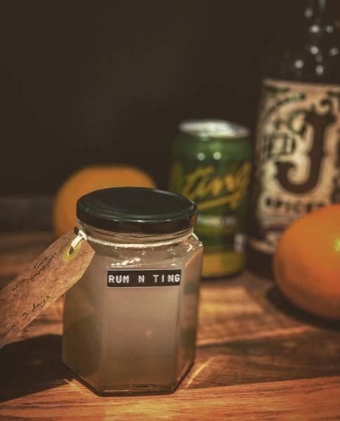 Rum 'n' Ting (serves 2)