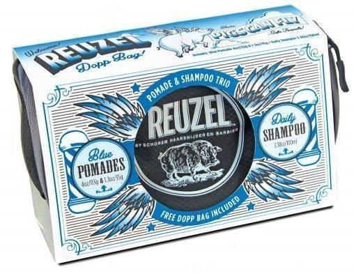 REUZEL Trousse PIGS CAN FLY - FIBER - Trio Cires Et Shampoing