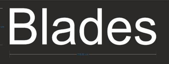 Logo blades logo