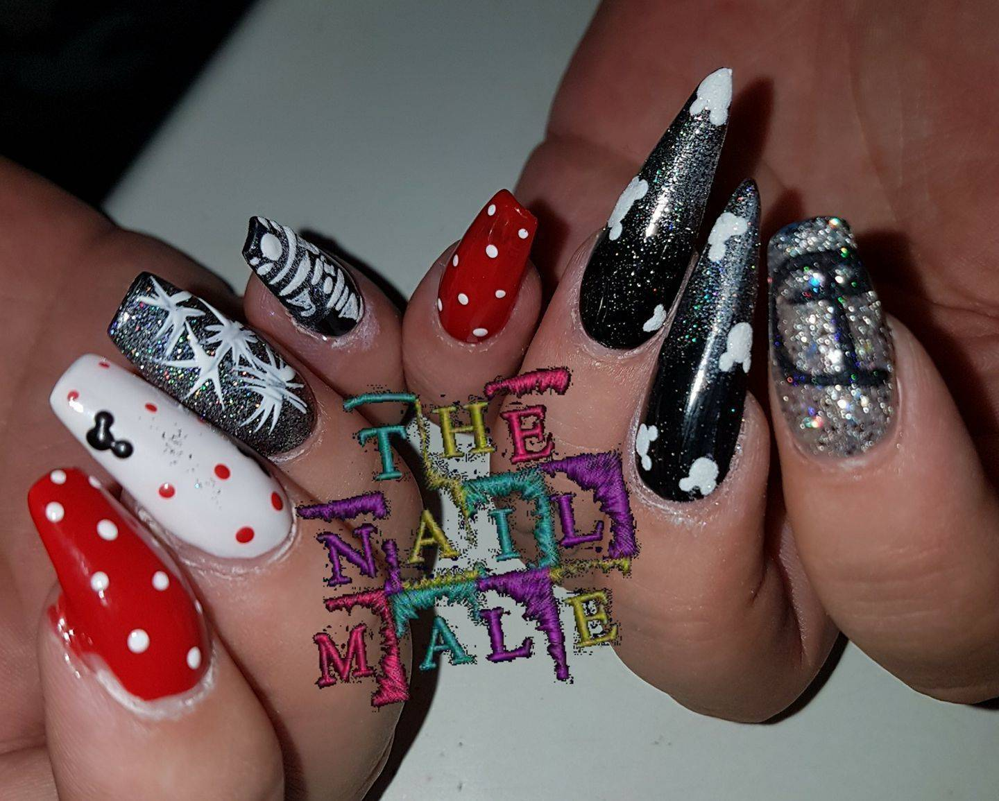 The Nail Male - Disney nails are a must sometimes #disney ...