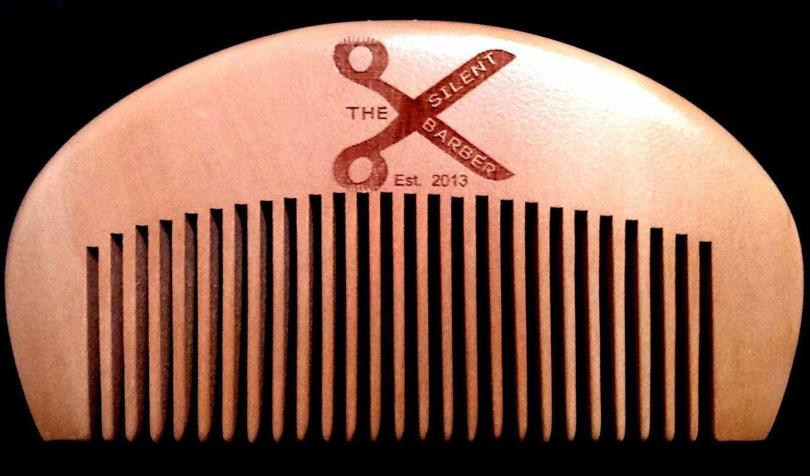 The Silent Barber Comb - £3